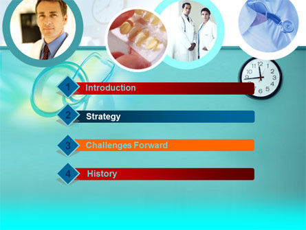 Medical Presentation PowerPoint Template, Slide 3, 00084, Medical — PoweredTemplate.com