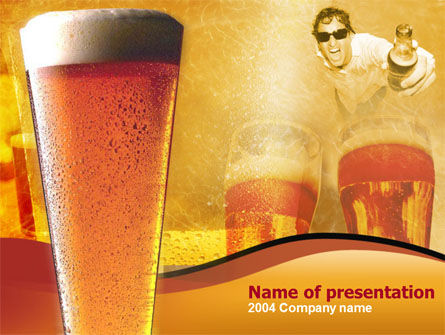 Food & Beverage: Beer PowerPoint Template #00085
