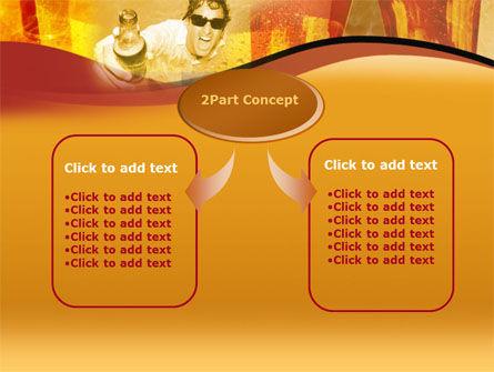Beer PowerPoint Template, Slide 4, 00085, Food & Beverage — PoweredTemplate.com
