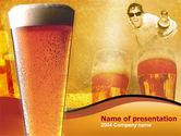 Food & Beverage: Bier PowerPoint Template #00085