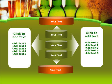 Beer Bottles PowerPoint Template Slide 13