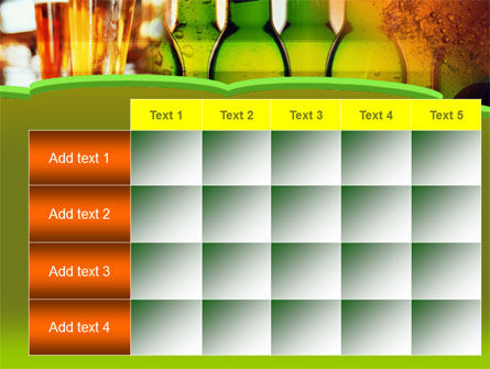 Beer Bottles PowerPoint Template Slide 15