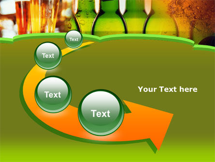 Beer Bottles PowerPoint Template Slide 6