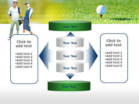 Couple of Golfers PowerPoint Template Slide 13