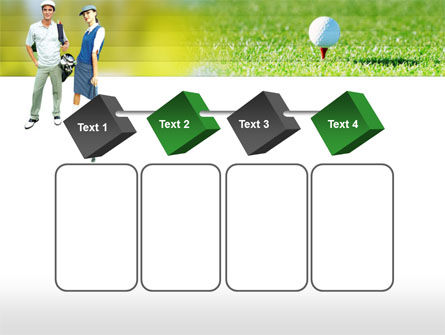 Couple of Golfers PowerPoint Template Slide 18