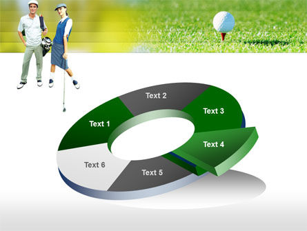 Couple of Golfers PowerPoint Template Slide 19