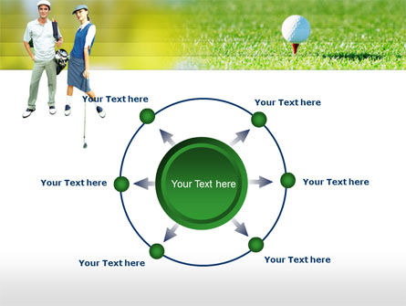 Couple of Golfers PowerPoint Template Slide 7