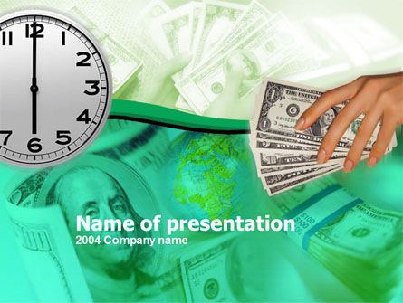 Funding PowerPoint Template, 00091, Financial/Accounting — PoweredTemplate.com