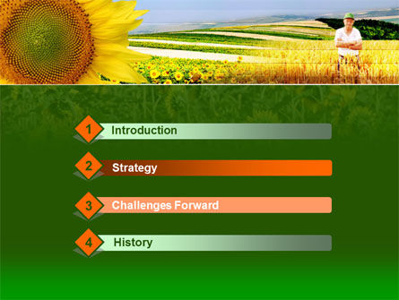 Agronomy PowerPoint Template Slide 3