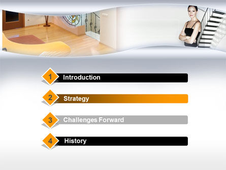 Interior Design PowerPoint Template Slide 3