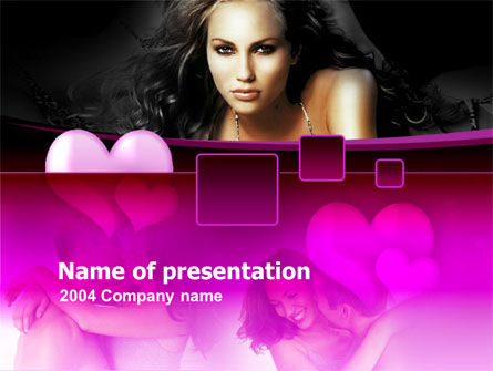 Holiday/Special Occasion: Modello PowerPoint - Bellezza e amore #00095