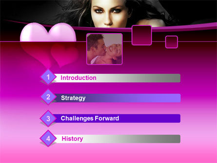 Beauty and Love PowerPoint Template Slide 3