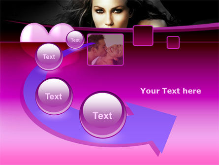 Beauty and Love PowerPoint Template Slide 6