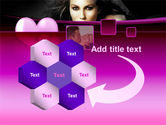 Beauty and Love PowerPoint Template#11