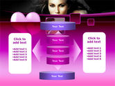Beauty and Love PowerPoint Template#13
