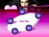 Beauty and Love PowerPoint Template#14