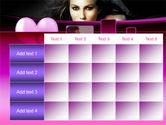 Beauty and Love PowerPoint Template#15
