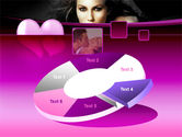 Beauty and Love PowerPoint Template#19