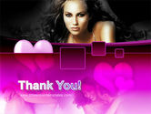 Beauty and Love PowerPoint Template#20