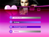 Beauty and Love PowerPoint Template#3