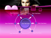 Beauty and Love PowerPoint Template#7