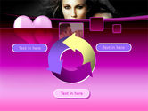 Beauty and Love PowerPoint Template#9