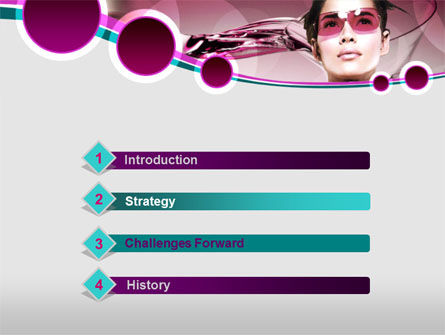 Night Club PowerPoint Template, Slide 3, 00097, Art & Entertainment — PoweredTemplate.com