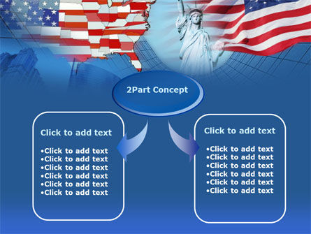 American Glory PowerPoint Template, Slide 4, 00098, America — PoweredTemplate.com
