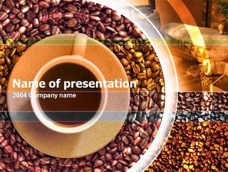 Free PowerPoint Backgrounds: Coffee Free PowerPoint Template #00099