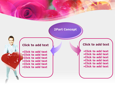 Valentines Day Gift PowerPoint Template Slide 4