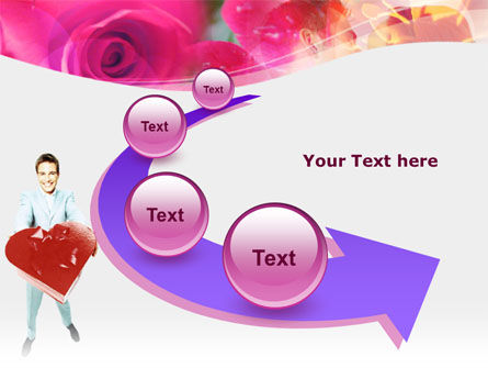 Valentines Day Gift PowerPoint Template Slide 6