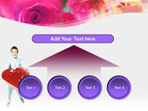 Valentines Day Gift PowerPoint Template#8