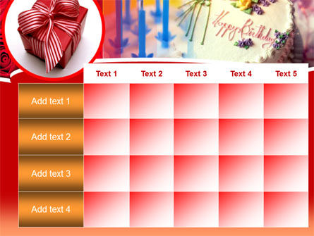 Birthday Present PowerPoint Template Slide 15