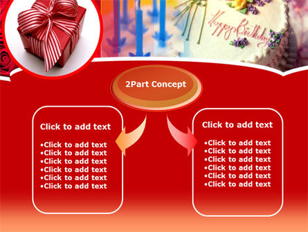 Birthday Present PowerPoint Template Slide 4