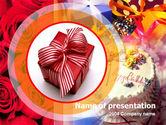 Holiday/Special Occasion: 파워포인트 템플릿 - 생일 선물 #00101