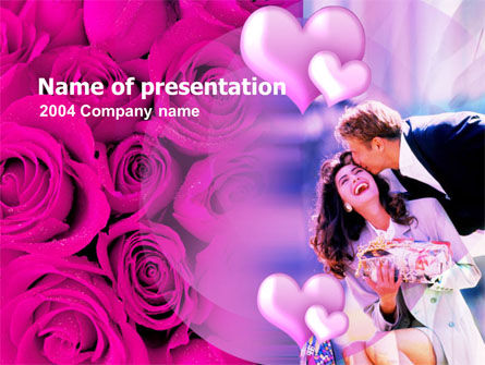 Holiday/Special Occasion: Valentines Day PowerPoint Template #00102