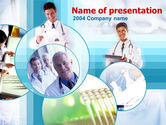 Medical: Modello PowerPoint - Medici di medicina #00107