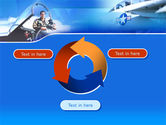 Air Force PowerPoint Template#9