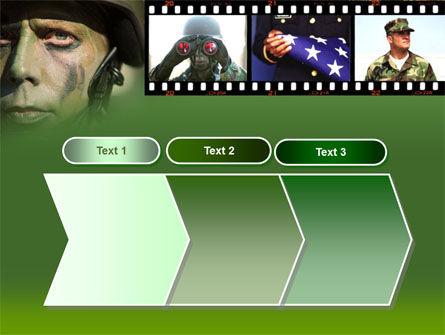 American Soldier PowerPoint Template Slide 16