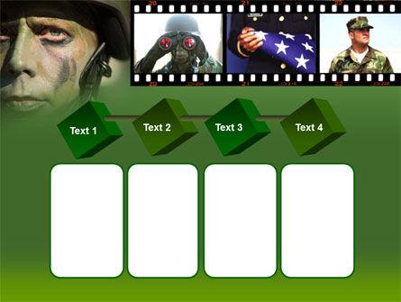 American Soldier PowerPoint Template Slide 18