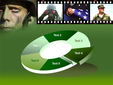American Soldier PowerPoint Template Slide 19