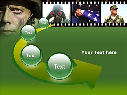 American Soldier PowerPoint Template Slide 6