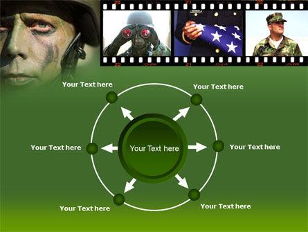 American Soldier PowerPoint Template Slide 7