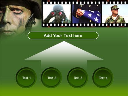 American Soldier PowerPoint Template Slide 8
