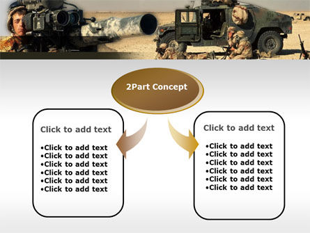 HMMWV PowerPoint Template, Slide 4, 00110, Military — PoweredTemplate.com