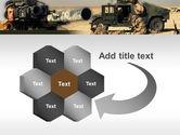 HMMWV PowerPoint Template#11