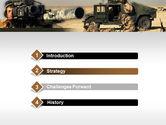 HMMWV PowerPoint Template#3