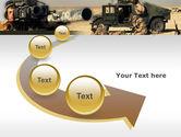 HMMWV PowerPoint Template#6