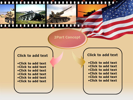 American Army PowerPoint Template Slide 4