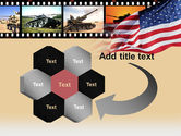 American Army PowerPoint Template#11